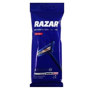 Купить Бритва одноразовая «RAZAR» - 2 PLUS, 3 шт. в Омске, в магазине Лидер-Март, ЛидерМарт