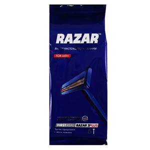 Купить Бритва одноразовая «RAZAR» - 2 PLUS, 5 шт. в Омске, в магазине Лидер-Март, ЛидерМарт