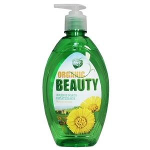 Купить Мыло жидкое «Organic beauty» - питательное, 500 мл в Омске, в магазине Лидер-Март, ЛидерМарт