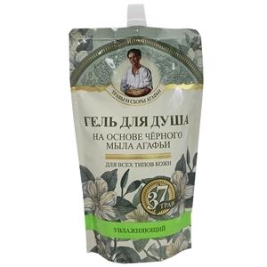 Купить Гель для душа «Травы и сборы Агафьи» - Увлажняющий,на основе черного мыла, 500 мл в Омске, в магазине Лидер-Март, ЛидерМарт