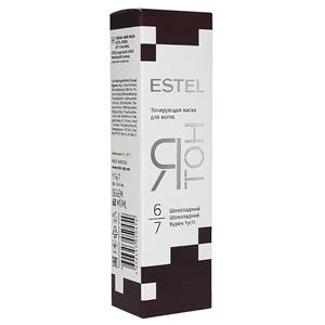 Купить Маска тонирующая для волос «Estel» - Я ТОН. Шоколадный 6/7 в Омске, в магазине Лидер-Март, ЛидерМарт