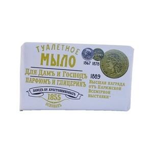 Купить Мыло туалетное «Для дамъ и господъ» - Парфюмъ и глицеринъ, 100 г в Омске, в магазине Лидер-Март, ЛидерМарт