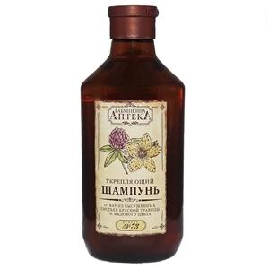 Купить Шампунь для всех типов волос «Бабушкина Аптека» - №73 отвар красной травицы и медового цвета, 350 мл в Омске, в магазине Лидер-Март, ЛидерМарт