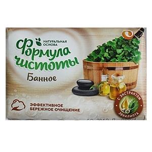 Купить Мыло туалетное «ЕЖК» - Банное, 150 г в Омске, в магазине Лидер-Март, ЛидерМарт