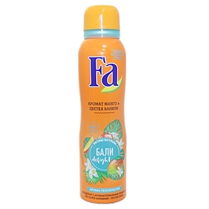 Купить Дезодорант спрей для женщин «Fa» - Ритмы острова Бали, 150 мл в Омске, в магазине Лидер-Март, ЛидерМарт