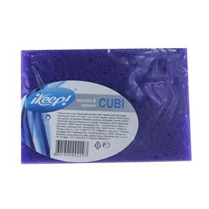 Купить Губка для тела «IKEEP» - Cubi, 1 шт. в Омске, в магазине Лидер-Март, ЛидерМарт