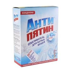 Купить Отбеливатель концентрат для стирки белого белья «Антипятин», 120 г в Омске, в магазине Лидер-Март, ЛидерМарт