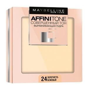 Купить Пудра для лица «Maybelline» - Affinitone, золотисто-бежевый, 24 в Омске, в магазине Лидер-Март, ЛидерМарт