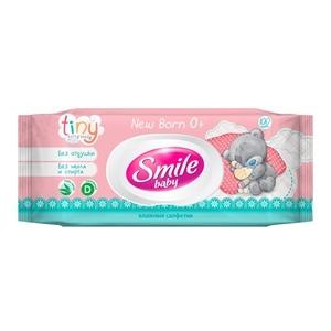 Купить Салфетки влажные «Smile Baby» - Me to You 100шт в Омске, в магазине Лидер-Март, ЛидерМарт