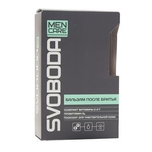 Купить Бальзам после бритья «SVOBODA» - MEN, 150 мл в Омске, в магазине Лидер-Март, ЛидерМарт