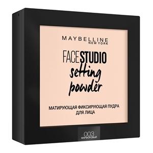 Купить Пудра для лица «Maybelline» - FACESTUDIO Setting Powder 003 Фарфоровый в Омске, в магазине Лидер-Март, ЛидерМарт