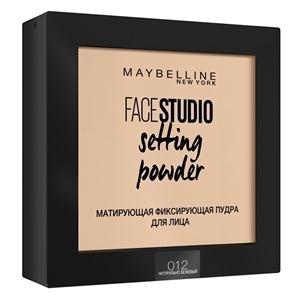 Купить Пудра для лица «Maybelline» - FACESTUDIO Setting Powder 012 Натурально-бежевый в Омске, в магазине Лидер-Март, ЛидерМарт