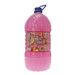 Купить Крем-мыло жидкое «Руно» - Тутти-фрутти, 5 л в Омске, в магазине Лидер-Март, ЛидерМарт