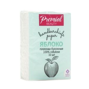 Купить Платочки носовые «Premial» - мини 1х4шт яблоко в Омске, в магазине Лидер-Март, ЛидерМарт