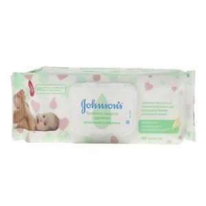 Купить Салфетки детские «Js Baby» - Тройная защита 48 шт в Омске, в магазине Лидер-Март, ЛидерМарт