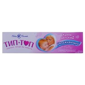 Купить Крем детский «Тип-топ» - Увлажняющий, витамин А,Е и экстракт шиповника, 40 мл в Омске, в магазине Лидер-Март, ЛидерМарт