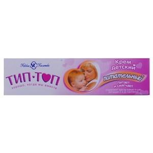Купить Крем детский «Тип-топ» - Питательный, масла кокао и ши, витамин Е и Д-пантенол, 40 мл в Омске, в магазине Лидер-Март, ЛидерМарт
