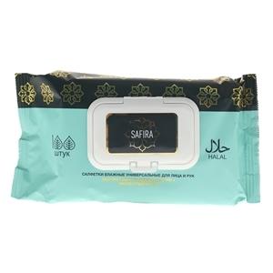 Купить Салфетки влажные «SAFIRA», 100 шт. в Омске, в магазине Лидер-Март, ЛидерМарт
