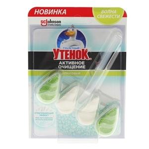 Купить Блок твёрдый «Туалетный Утёнок» - Цитрус Отбеливающий, 37 г в Омске, в магазине Лидер-Март, ЛидерМарт