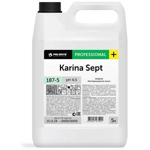 Купить Мыло жидкое бактерицидное «Pro-Brite» - Karina Sept, 5 л в Омске, в магазине Лидер-Март, ЛидерМарт