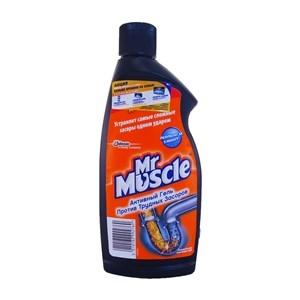 Купить Средство для растворения загрязнений канализационных труб «Mr Muscle», 500 мл в Омске, в магазине Лидер-Март, ЛидерМарт