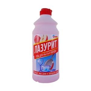 Купить Гель для мытья посуды «Лазурит» - Яблоко, 500 мл в Омске, в магазине Лидер-Март, ЛидерМарт