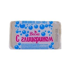 Купить Мыло хозяйственное «Весна» - с глицерином, 140 г в Омске, в магазине Лидер-Март, ЛидерМарт