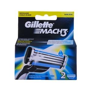 Купить Кассета сменная для бритья «Mach3», 2 шт. в Омске, в магазине Лидер-Март, ЛидерМарт