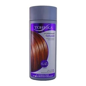 Купить Бальзам оттеночный для волос «Тоника» - Рыжий, 6.45, 150 мл в Омске, в магазине Лидер-Март, ЛидерМарт