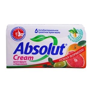 Купить Мыло туалетное «Absolut» - Грейпфрут и бергамот, антибактериальное, 90 г в Омске, в магазине Лидер-Март, ЛидерМарт