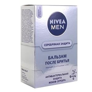 Купить Бальзам после бритья «NIVEA Men» - Серебряная защита, 100 мл в Омске, в магазине Лидер-Март, ЛидерМарт