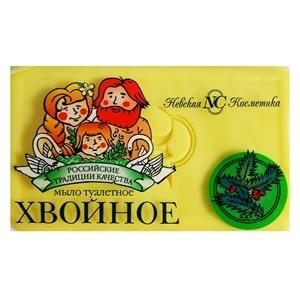 Купить Мыло туалетное «Невская Косметика» - Хвойное, 140 г в Омске, в магазине Лидер-Март, ЛидерМарт