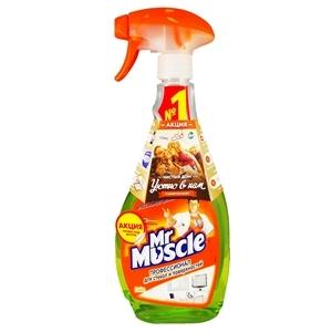 Купить Средство чистящее для стекл «Mr Muscle» - Лайм, 500 мл в Омске, в магазине Лидер-Март, ЛидерМарт